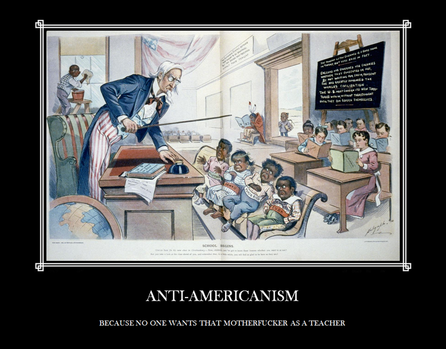 aNTI-aMERICANISM by acfierro