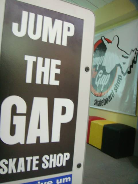Jump the gap skateshop banner by scribblesanddrawings on for Jump the gap