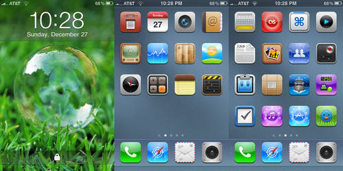 First iPhone Screenshot by CurleyFries123