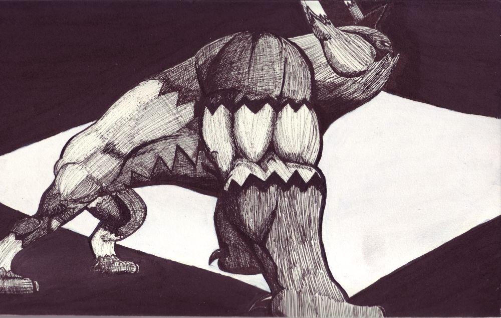 Proud Behemoth by MichaelBeckett