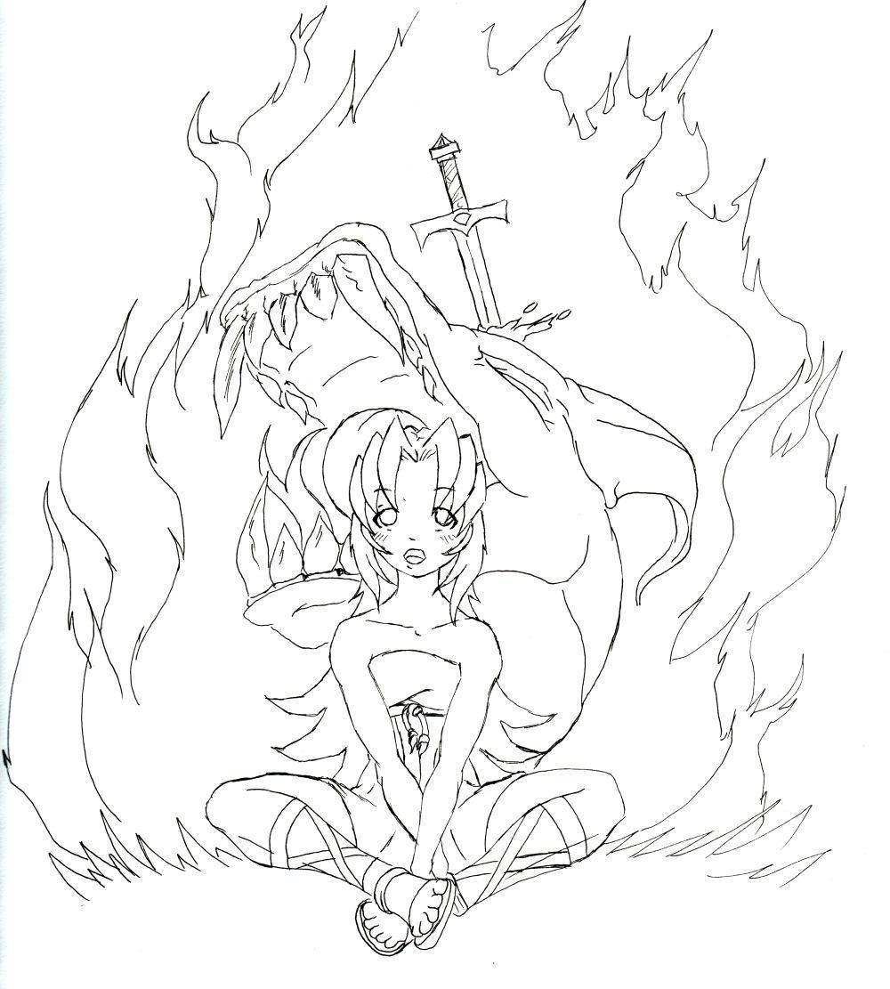 Enuma Eilish Illustration 2 by MichaelBeckett