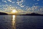 Blue Lake at Sunset Stock II by Things0fMagic