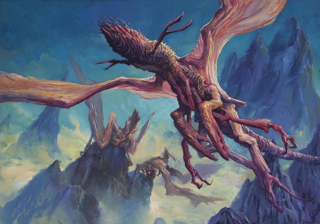 The Fungi of Yuggoth by zypherax