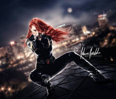 The Black Widow by EvanescentAngel666