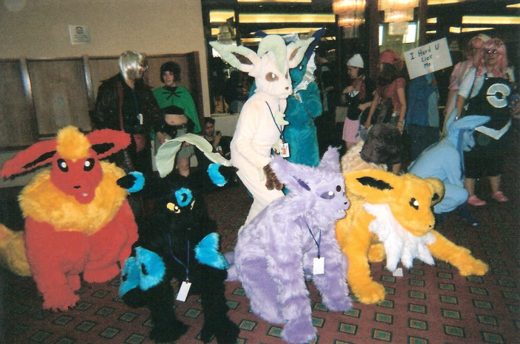 Flareon Costume For Kids