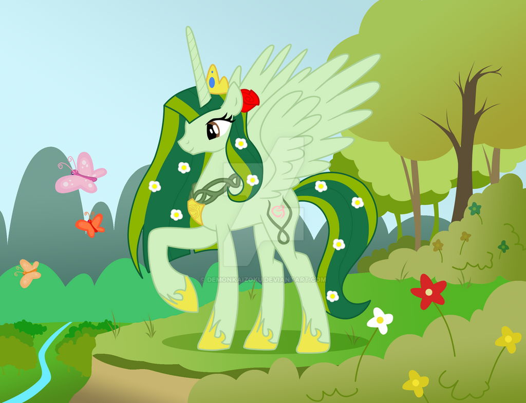 MLP:FIM - Princess Gaia by DemonKaizoku