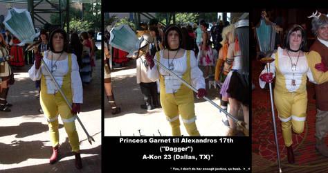 A-Kon 23 - Myself as Princess Garnet by DemonKaizoku