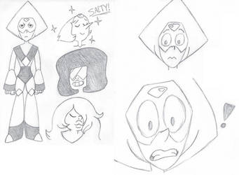 Steven Universe - First Practice Sketches by DemonKaizoku
