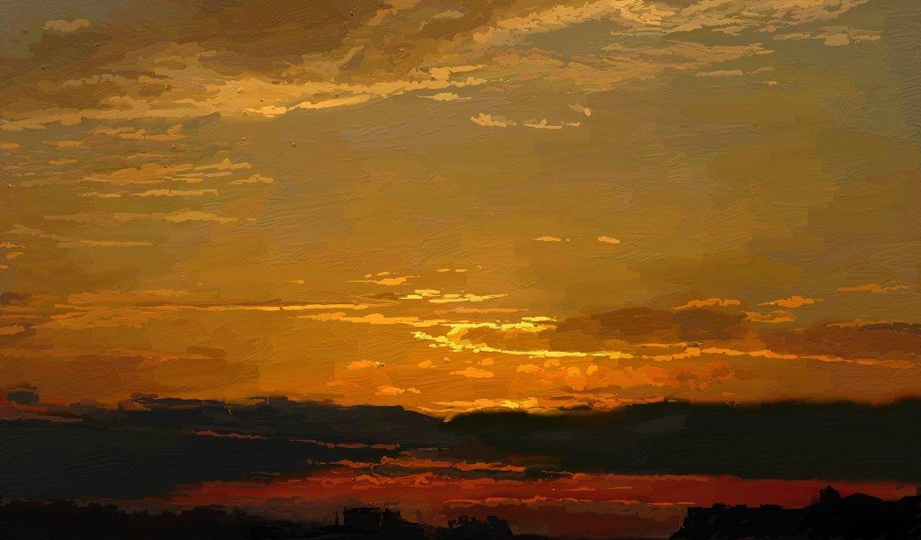 Sunset by Mishariel