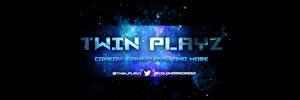 Twin Playz Banner