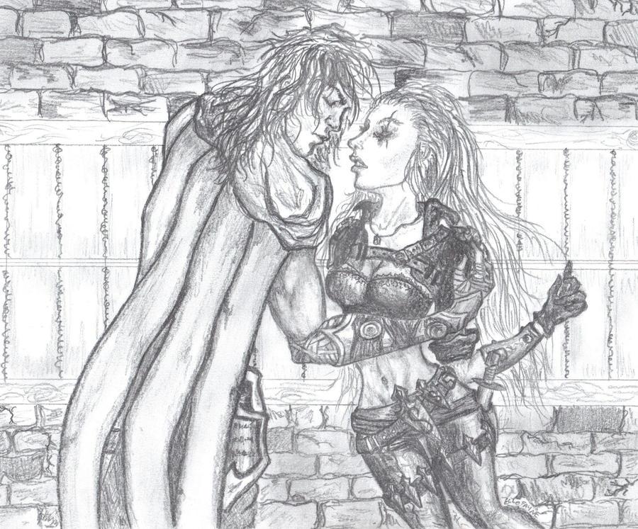 Talon and Katarina by Ellofayne