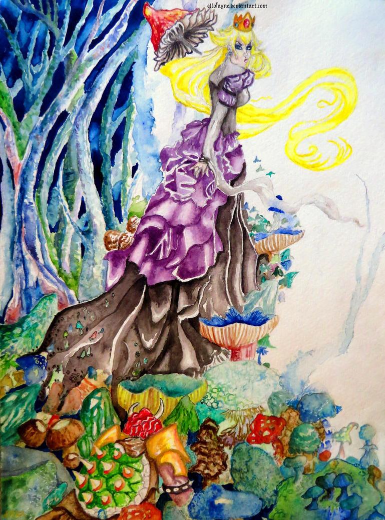 The Mushroom Queen by Ellofayne