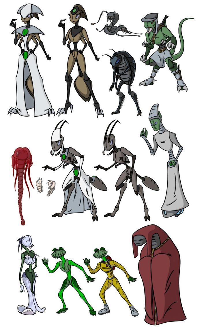Random Character Dump by fakefrogs