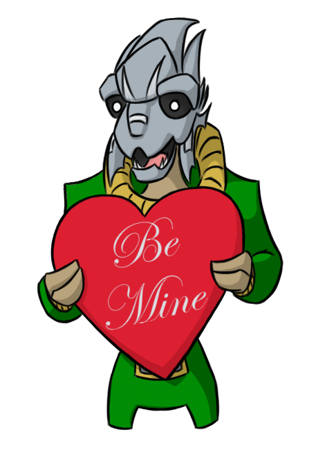 Be Mine: Turian by fakefrogs