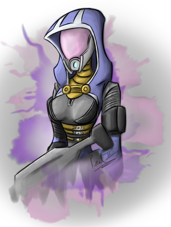 Tali speed draw by fakefrogs