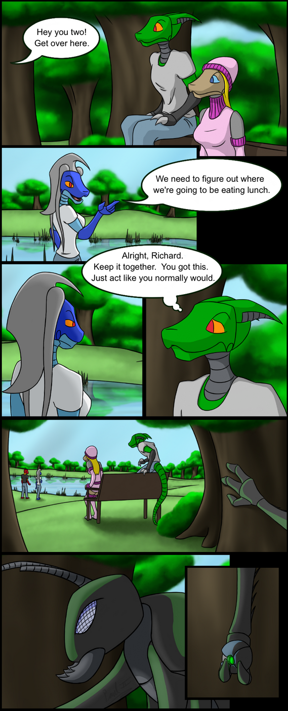 Worlds Apart: page 005 by fakefrogs on DeviantArt