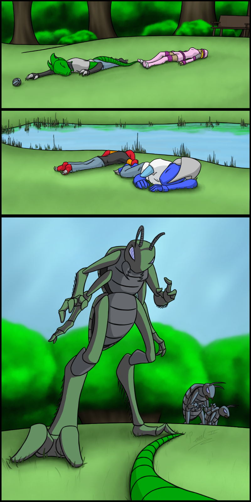 Worlds Apart: page 004 by fakefrogs on DeviantArt
