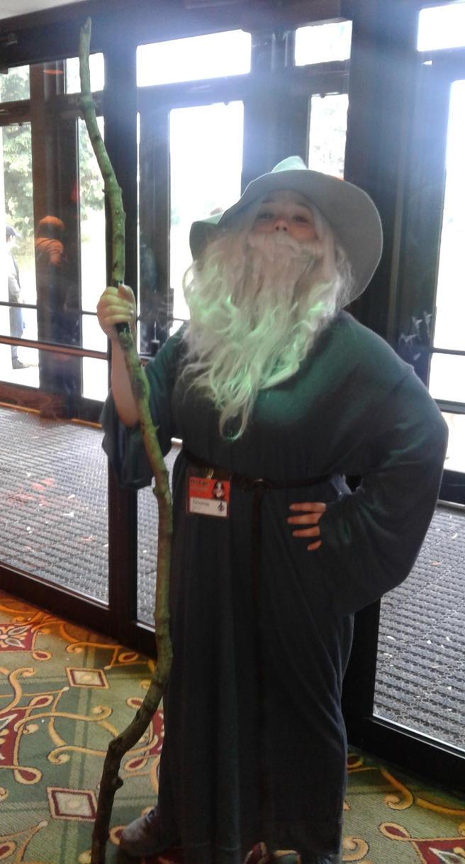 Gandolf cosplayer by Wildpurplechild