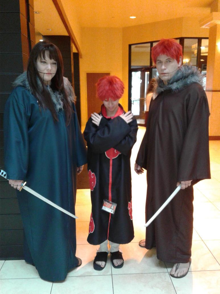 Sasori Family cosplay by Wildpurplechild