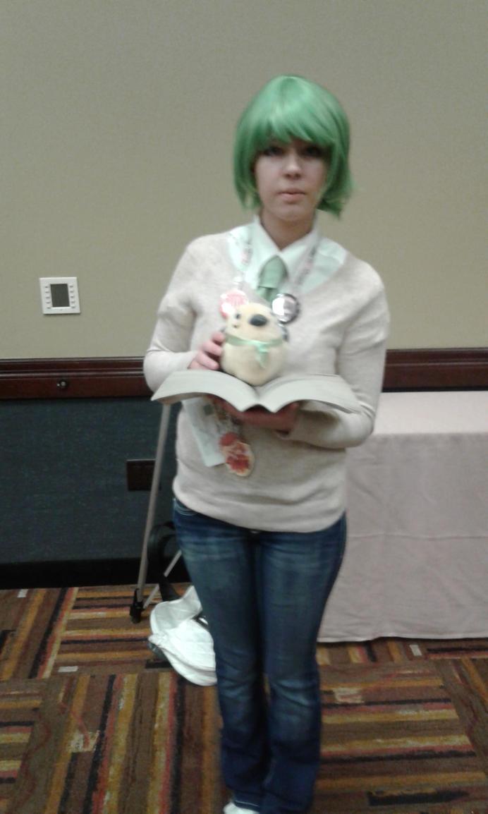 Nageki cosplay by Wildpurplechild