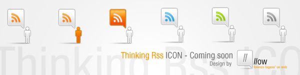 Thinking RSS Icon, Coming Soon by FalconXp