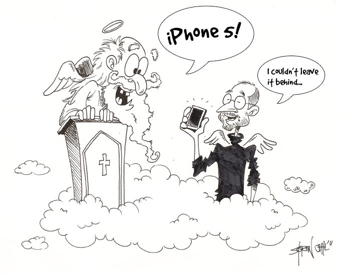 Steve Jobs 1955-2011 by ArtmanAdventures