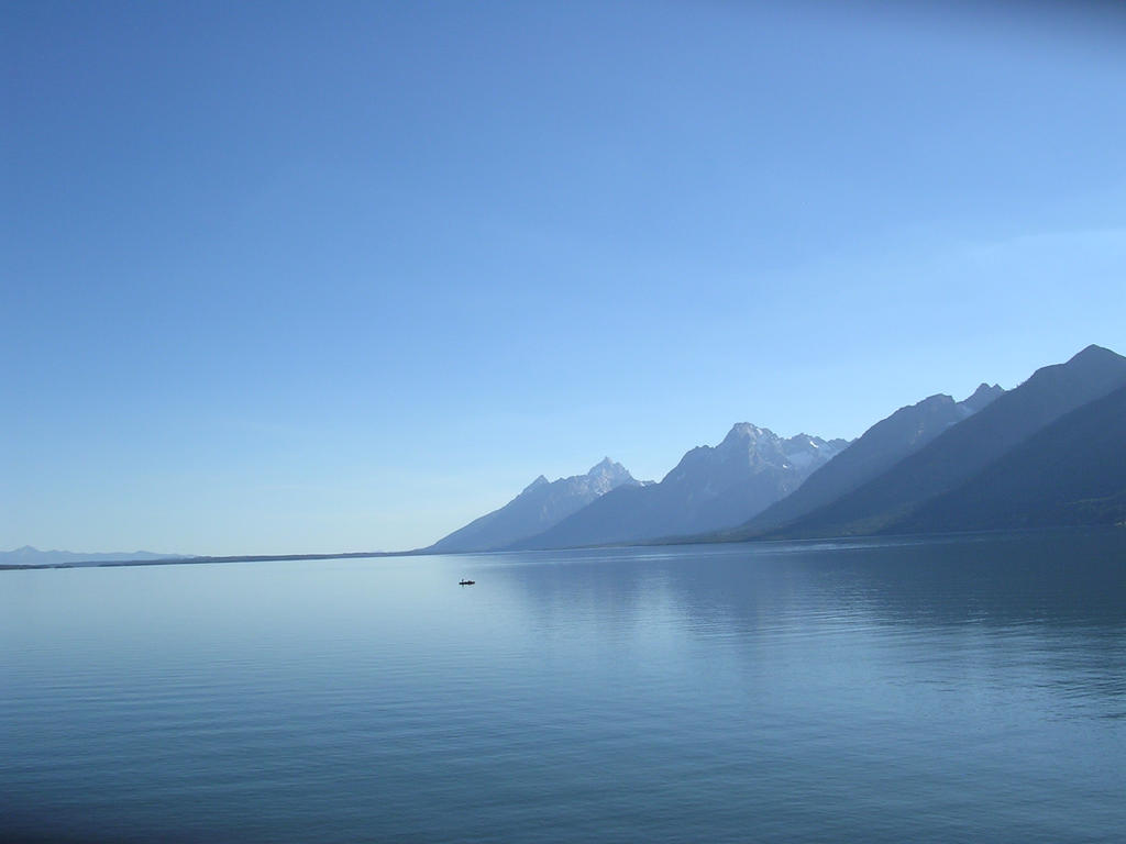 The Grand Tetons by FluffyKnight