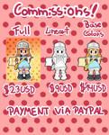Commissions info (read description) by MegaBuster182