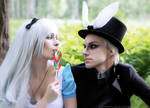 Alice and March Hare (cosplay)