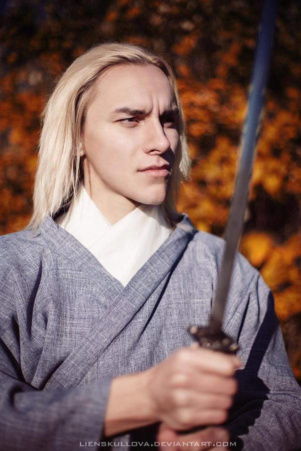 Samurai  (Kitsune Story) by LienSkullova