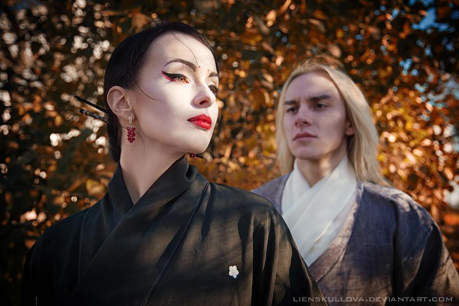 Kitsune Story by LienSkullova
