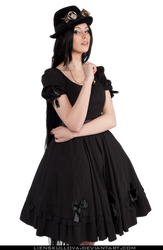 STOCK PNG - Gothic Steampunk Lolita by LienSkullova