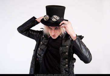 STOCK - Gothic Steampunk Guy by LienSkullova