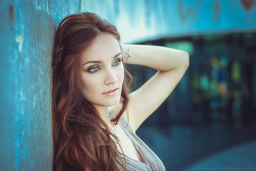 russian beauty by lienskullova on deviantart