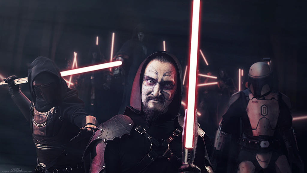 Star Wars: Ready to Fight by LienSkullova