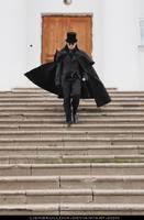 STOCK - Gothic Aristocratic Man 02 (Running) by LienSkullova