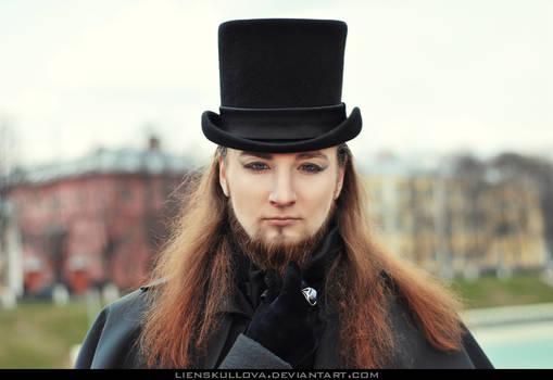 STOCK - Gothic Aristocratic Man 03 (Portrait)