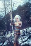 Cirilla Fiona Elen Riannon (WITCHER cosplay)