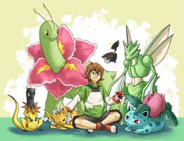 Pokemon Trainer Pidge by JemLeigh