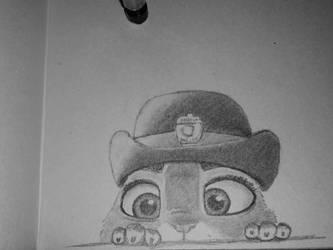 Sneaky Peeky Bun-bun by OhEmGoodness