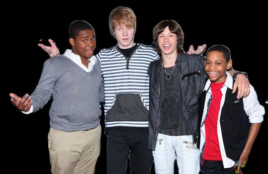 Doc, Adam, Leo, Tyler James - Disney XD Boys
