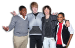 Doc, Adam, Leo, Tyler James - Disney XD Boys by DenBlueFun99