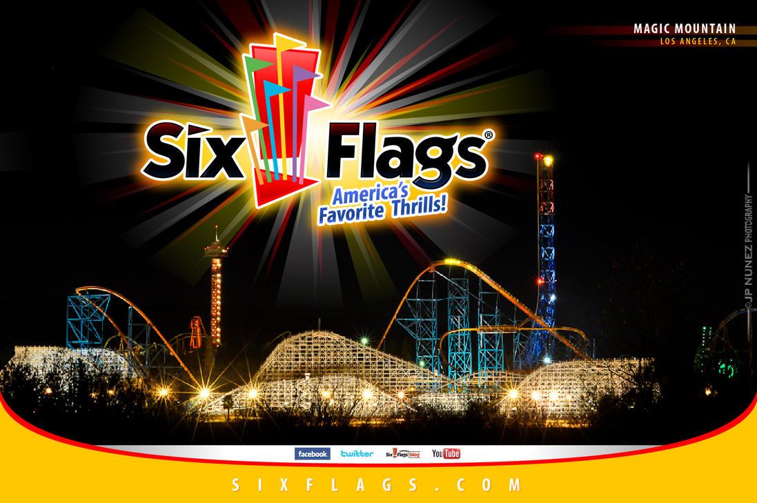 six flags la by jpnunezdesigns on deviantart