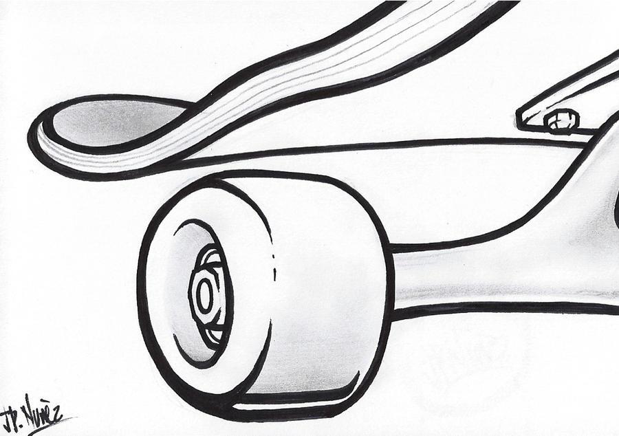 Skateboard by jpnunezdesigns