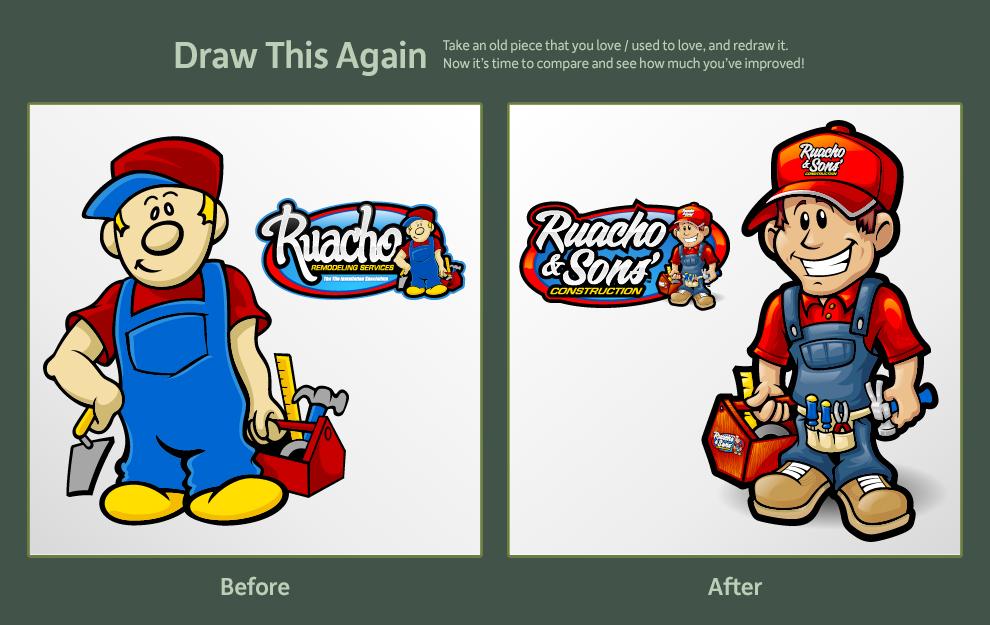 Ruacho ReDraw by jpnunezdesigns