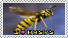 .:F2U:. Wasp Stamp by Cat-Loving-Queen