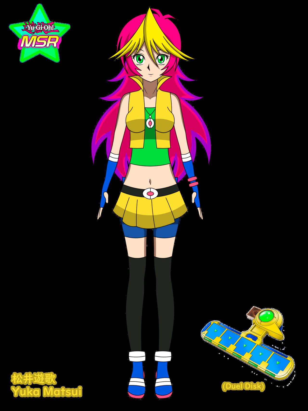 Yu-Gi-Oh! protagonist OC - Yuka Matsui