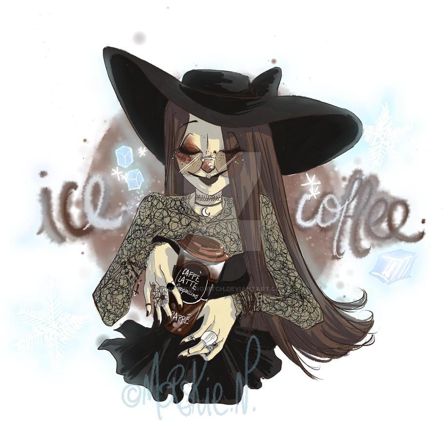 Ice Coffee by MorskieNovitch