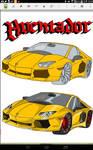 Lamborghini Aventador colored