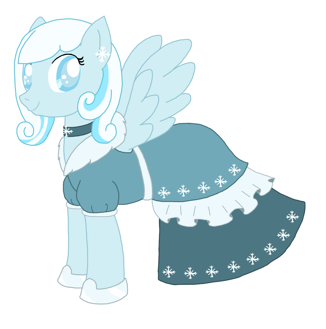 Snowdrop At The Gala by ProjectSNT on DeviantArt